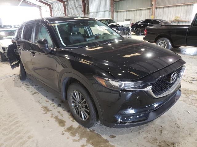 Salvage cars for sale from Copart Greenwell Springs, LA: 2017 Mazda CX-5 Touring