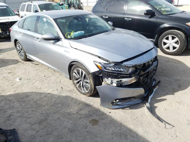 Salvage cars for sale from Copart Van Nuys, CA: 2018 Honda Accord Hybrid