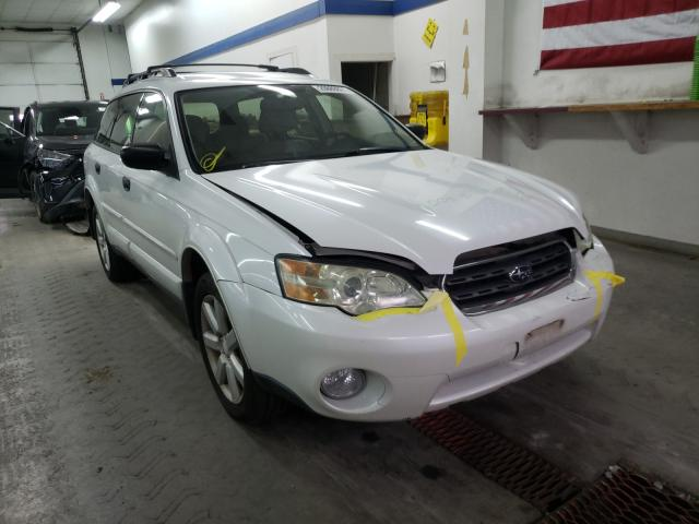 Salvage cars for sale from Copart Pasco, WA: 2006 Subaru Legacy Outback