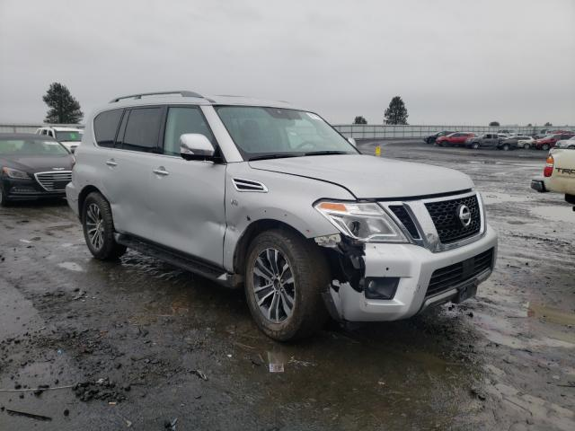 Salvage cars for sale from Copart Airway Heights, WA: 2020 Nissan Armada SV