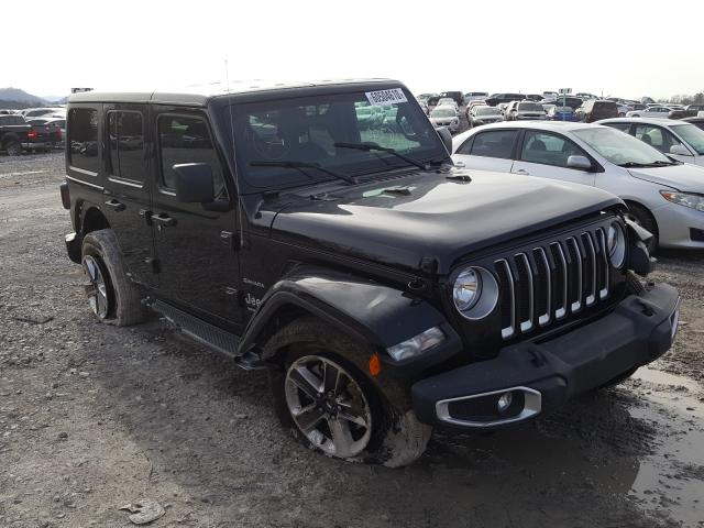 Salvage cars for sale from Copart Madisonville, TN: 2020 Jeep Wrangler U