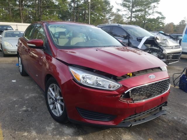 2016 FORD FOCUS SE - Left Front View Lot 29912661.