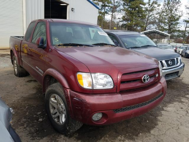 Salvage cars for sale from Copart Austell, GA: 2003 Toyota Tundra ACC
