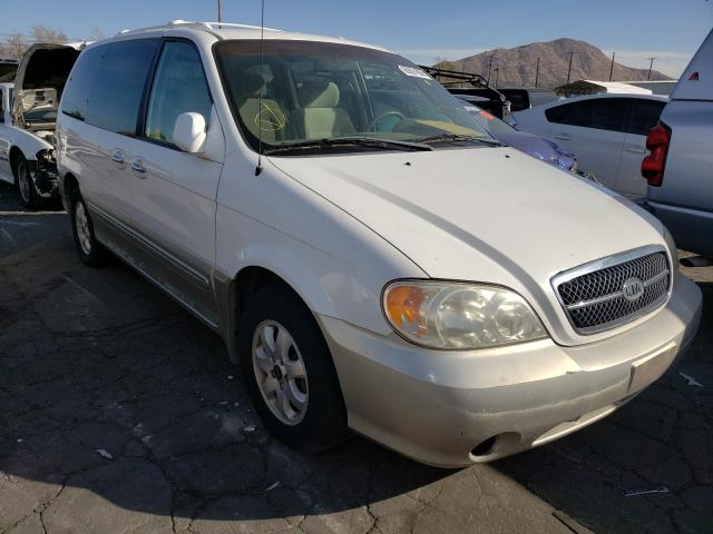 Salvage cars for sale from Copart Colton, CA: 2004 KIA Sedona EX