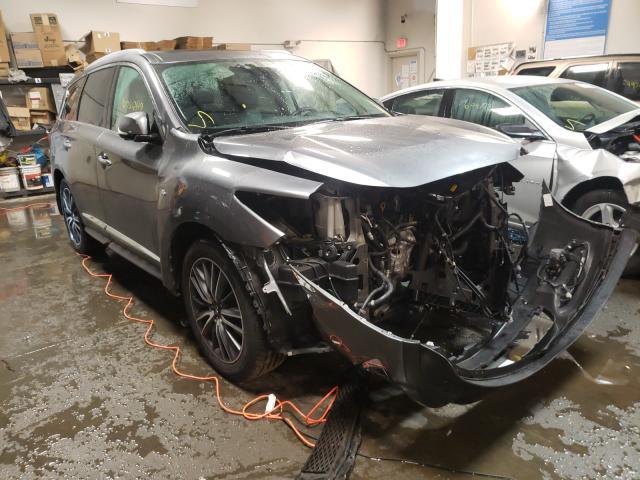 Infiniti salvage cars for sale: 2017 Infiniti QX60