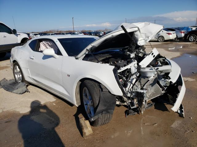 Salvage cars for sale from Copart Temple, TX: 2020 Chevrolet Camaro LS