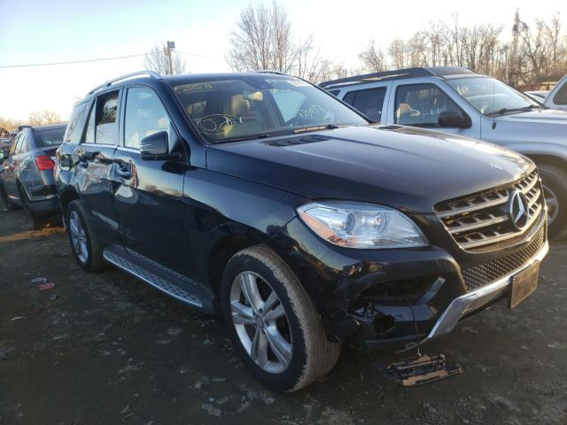 Salvage cars for sale from Copart Baltimore, MD: 2015 Mercedes-Benz ML 350 4matic