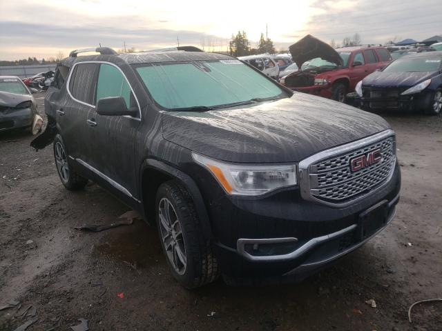 Salvage cars for sale from Copart Eugene, OR: 2017 GMC Acadia DEN