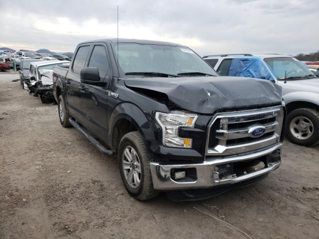 Salvage cars for sale from Copart Madisonville, TN: 2015 Ford F150 Super