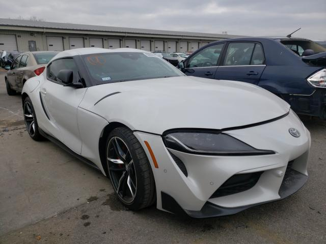 Salvage cars for sale from Copart Lawrenceburg, KY: 2021 Toyota Supra Base
