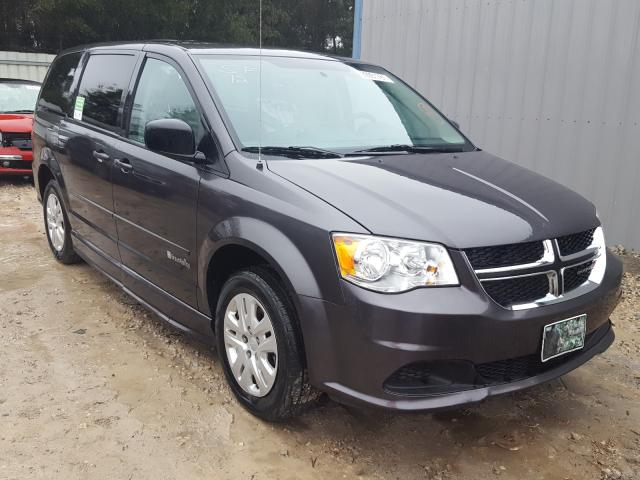 Salvage cars for sale from Copart Midway, FL: 2017 Dodge Grand Caravan