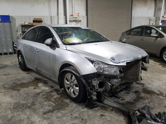 Salvage cars for sale from Copart Kansas City, KS: 2015 Chevrolet Cruze LS
