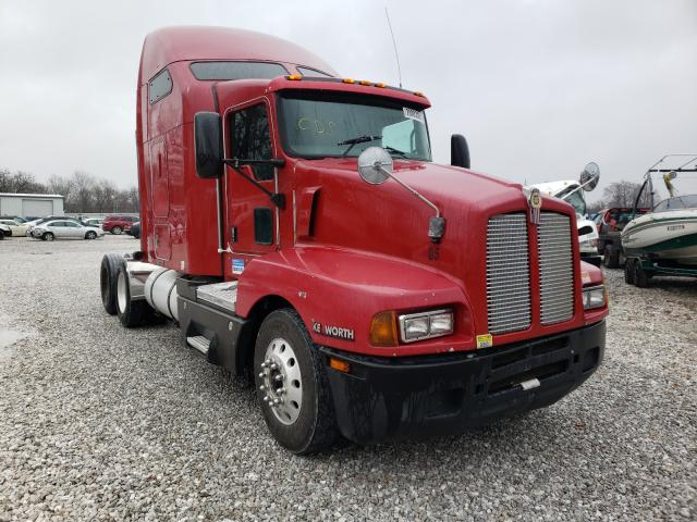 Salvage cars for sale from Copart Rogersville, MO: 2007 Kenworth Construction