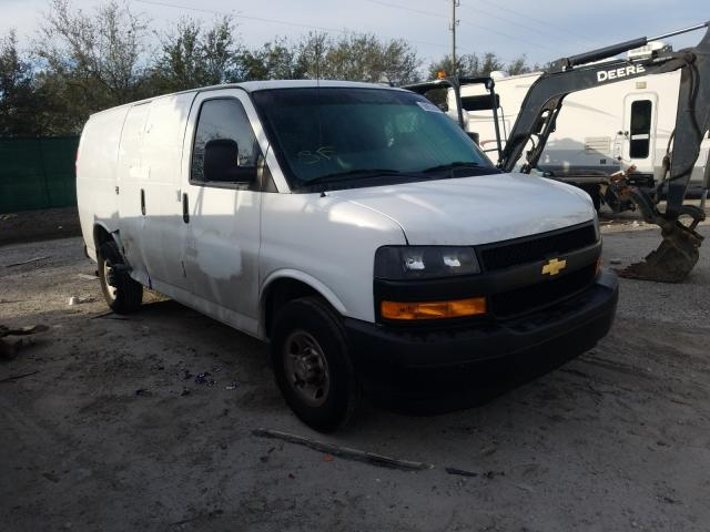 Salvage cars for sale from Copart West Palm Beach, FL: 2020 Chevrolet Express G2