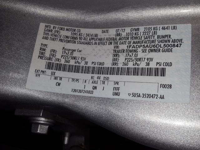 1FADP5AU6DL500847 2013 Ford C-Max Se 2.0L