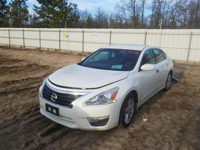 2014 NISSAN ALTIMA 2.5 - Left Front View