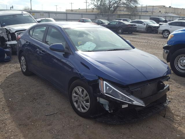 Salvage cars for sale from Copart Mercedes, TX: 2020 Hyundai Elantra SE