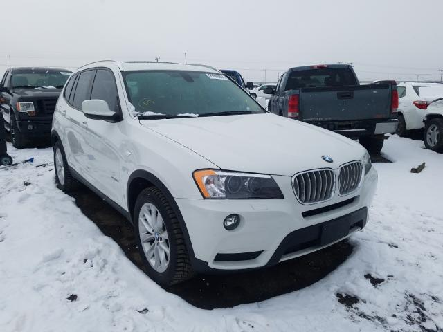 BMW X3 XDRIVE2 salvage cars for sale: 2014 BMW X3 XDRIVE2