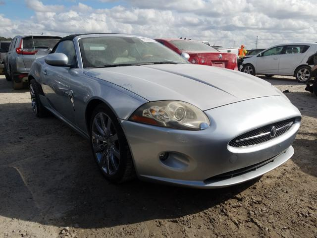 Jaguar XK salvage cars for sale: 2007 Jaguar XK