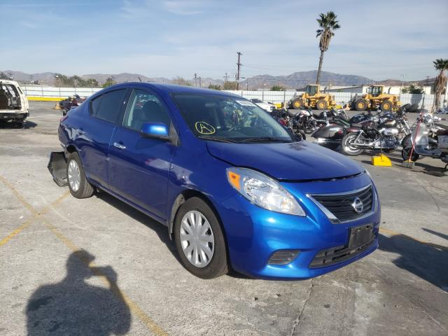 Nissan salvage cars for sale: 2014 Nissan Versa S