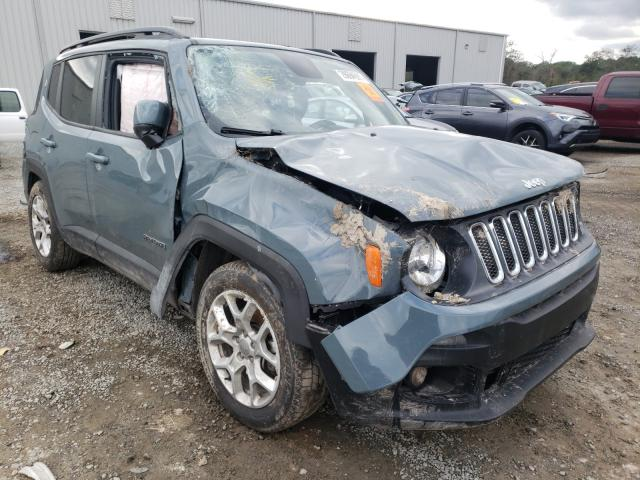 Salvage 2018 JEEP RENEGADE - Small image. Lot 29694591