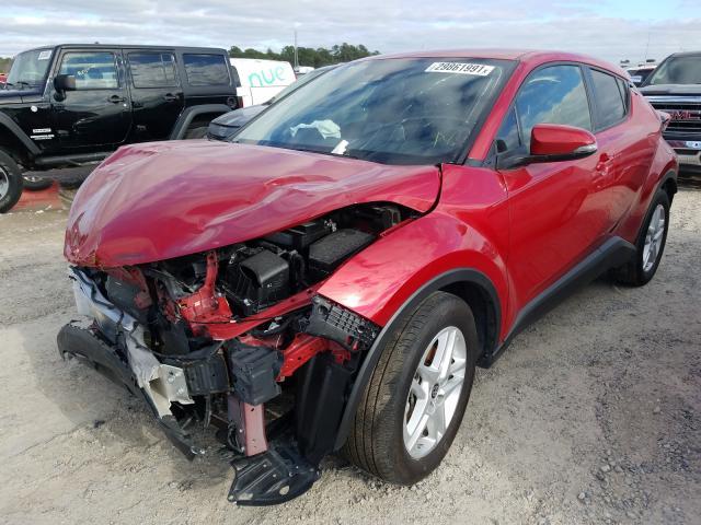 из сша 2020 Toyota C-Hr Xle 2.0L JTNKHMBXXL1072725