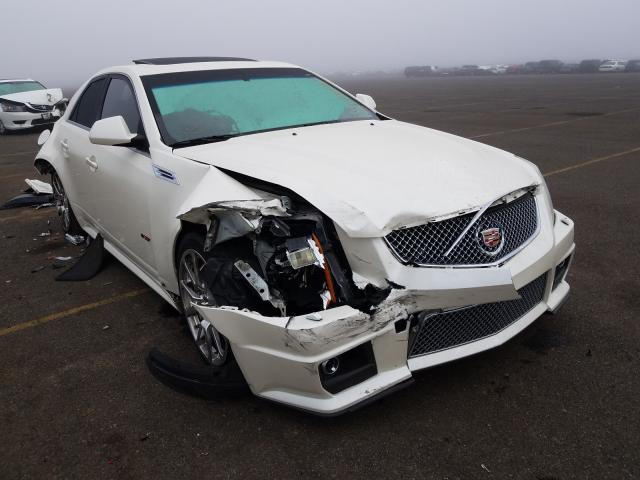 Salvage cars for sale from Copart Sacramento, CA: 2010 Cadillac CTS-V
