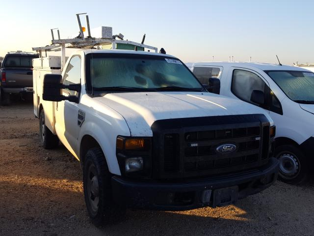 Salvage cars for sale from Copart San Antonio, TX: 2008 Ford F350 SRW S