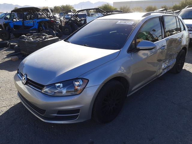 из сша 2015 Volkswagen Golf Sport 2  L 3VWCA7AU2FM520644