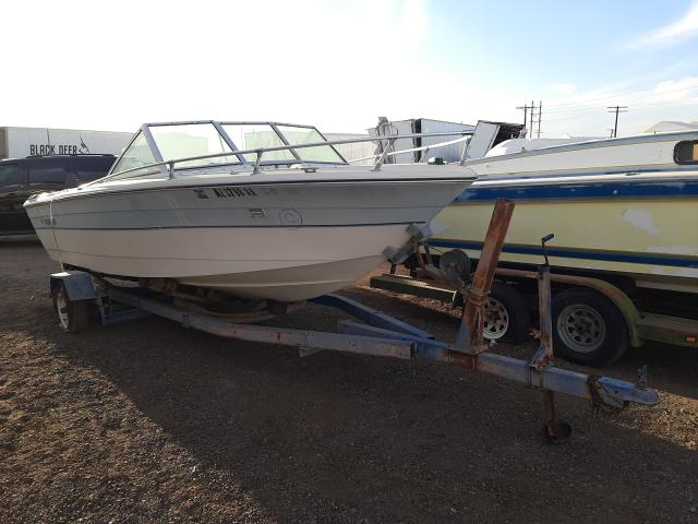 Rinker salvage cars for sale: 1984 Rinker Boat With Trailer