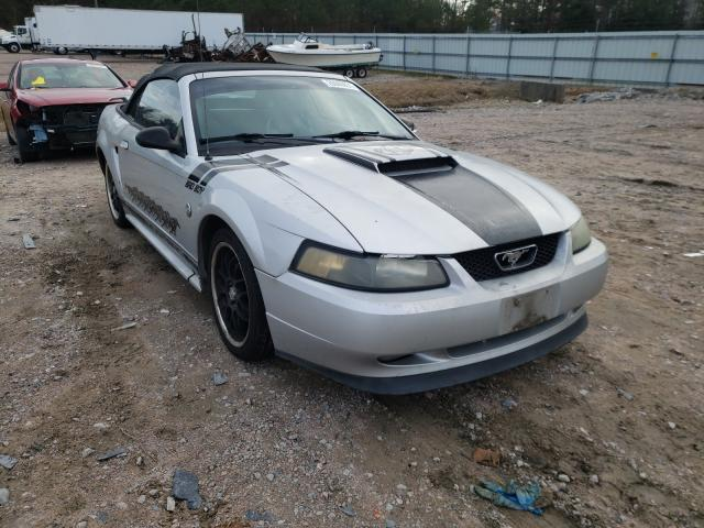 Salvage cars for sale from Copart Charles City, VA: 2004 Ford Mustang GT