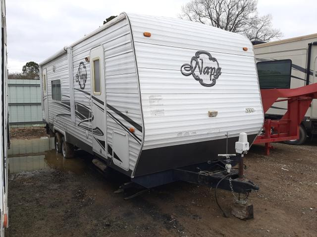 Trail King salvage cars for sale: 2009 Trail King Travel Trailer