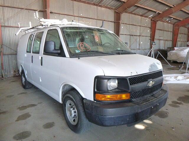 Salvage cars for sale from Copart Corpus Christi, TX: 2012 Chevrolet Express G2
