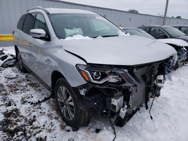 Salvage cars for sale from Copart Cudahy, WI: 2018 Nissan Pathfinder
