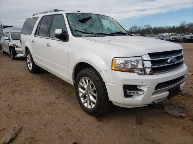 Salvage cars for sale from Copart Hillsborough, NJ: 2017 Ford Expedition