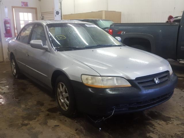 Honda Accord salvage cars for sale: 2002 Honda Accord