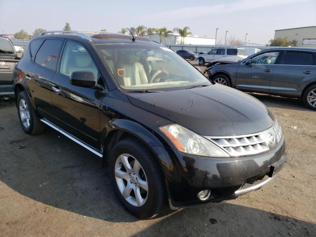 Nissan salvage cars for sale: 2007 Nissan Murano SL