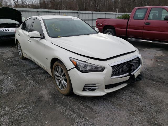 Salvage cars for sale from Copart York Haven, PA: 2017 Infiniti Q50 Base