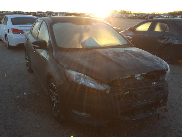 Salvage cars for sale from Copart San Antonio, TX: 2015 Ford Focus SE