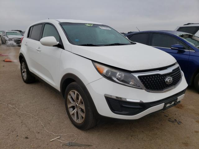 Salvage cars for sale from Copart Amarillo, TX: 2016 KIA Sportage L