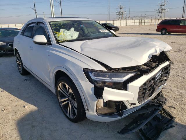 Audi Q8 Premium salvage cars for sale: 2020 Audi Q8 Premium