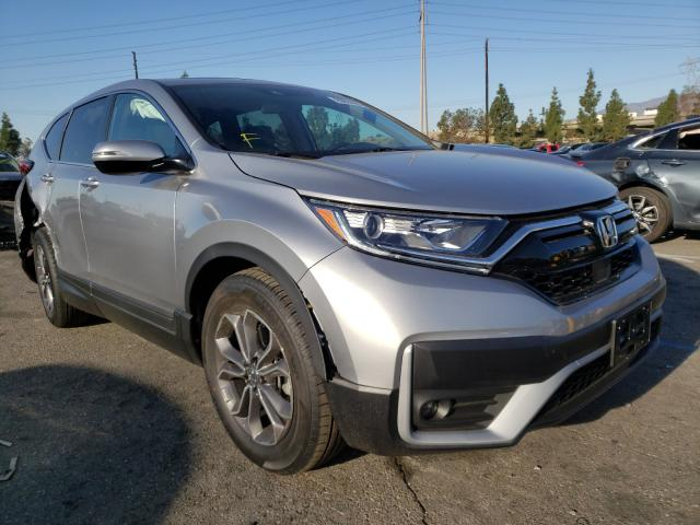 Salvage cars for sale from Copart Rancho Cucamonga, CA: 2020 Honda CR-V EX