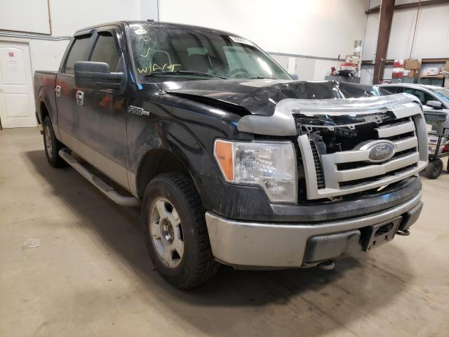 Salvage cars for sale from Copart Nisku, AB: 2010 Ford F150 Super