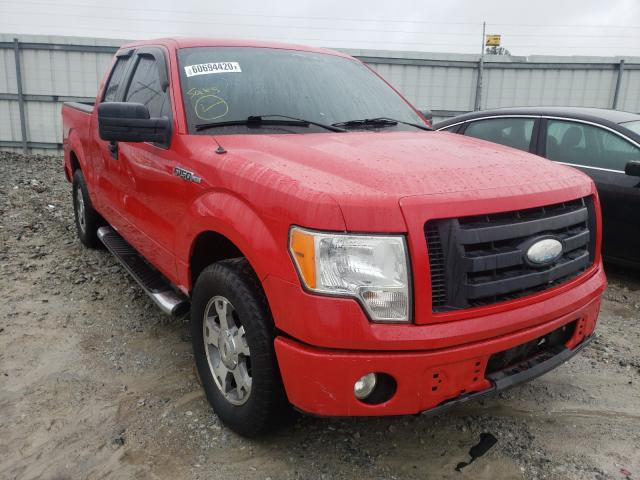 Salvage cars for sale from Copart Loganville, GA: 2009 Ford F150 Super