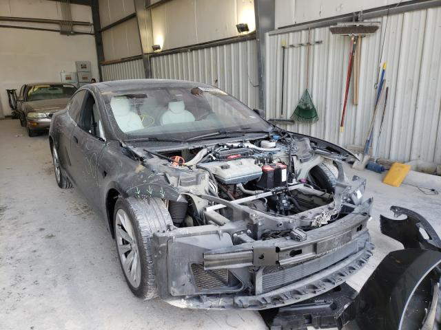 Salvage cars for sale from Copart New Braunfels, TX: 2017 Tesla Model S