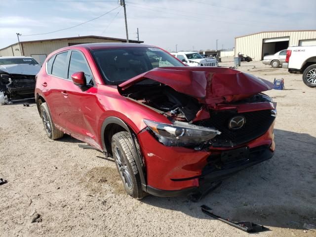 Salvage cars for sale from Copart Temple, TX: 2019 Mazda CX-5 Touring
