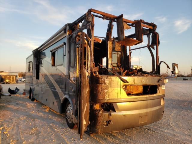Salvage cars for sale from Copart New Braunfels, TX: 2004 Country Coach Motorhome Inspire