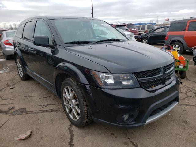 Vehiculos salvage en venta de Copart Woodhaven, MI: 2014 Dodge Journey R