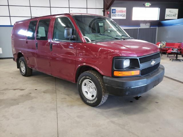 Salvage cars for sale from Copart East Granby, CT: 2009 Chevrolet Express G2