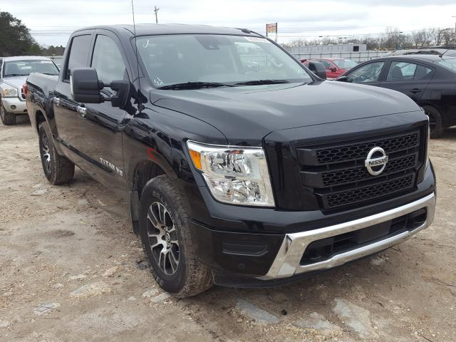 Salvage cars for sale from Copart Newton, AL: 2020 Nissan Titan SV